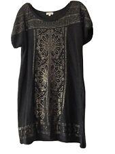 Monsoon Thin Knit Tunic Dress Size L