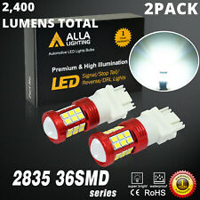 2x 3157 White LED Reverse Back up Light Bulb For 2007-2013 Chevy Silverado 1500
