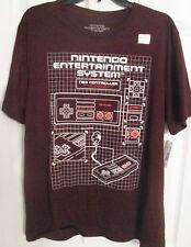Nintendo Entertainment System NES Controller Diagram T-Shirt Men's XL