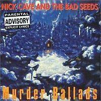 Murder Ballads von Cave,Nick & the Bad Seeds   CD   Zustand gut