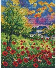 Anchor-contati Punto Croce Kit-prato di fiori-PCE961