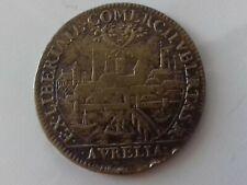 """Jeton  Noblesse et ville """" communauté des machands de loire"""" Orléans 1653"""