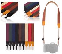 Universal Adjustable Camera Shoulder Neck Strap Belt Fit For Sony Canon SLR DSLR