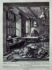 Originaldrucke (1800-1899) aus Deutschland mit Holzschnitt