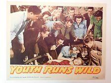 YOUTH RUNS WILD - Val Lewton 1946 RKO Teen Film THEATRICAL MOVIE LOBBY CARD