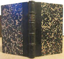 3 VOL. 1880 LOUBENS MOTS FRANCAIS DES LANGUES ETRANGERES LATINE GREC ETYMOLOGIE