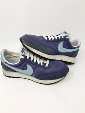 Rare Vnds Vintage 1999 Nike Running Shoes Womens Us 8 Blue 603093 Waffle Cortez