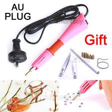 NEW AU plug Applicator Wand Heat Gun for Hot fix Hotfix Rhinestone Crystal Tool