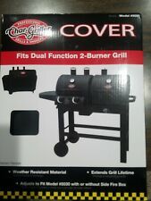 Char-Griller #5055 Grill Cover Fits Dual Function 5030 2 Burner Grill
