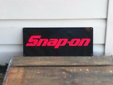 SNAP ON RACING TOOL Mechanic Body Shop Logo Garage METAL SIGN 5x12 50071