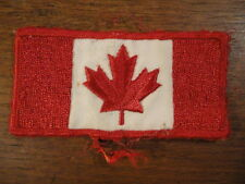 Canada Canadian Maple Leaf Flag Embroidered Sew On Patch