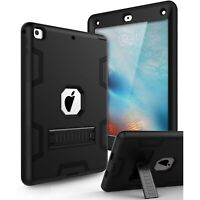 Apple IPad 2 A1395 / A1396 / A1397 Shockproof Duty Hard Stand Case Cover