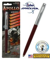 Fisher Space Pen #S251-Burgundy Apollo Series Pen In Chrome & Burgundy