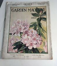 Garden Magazine June 1922 Cover And Partial Contents Art