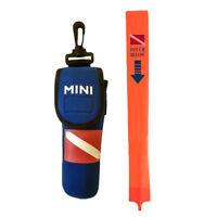 "Scuba Dive 55"" PVC Surface Marker Buoy (SMB/Safety Sausage) + Pouch & Line"