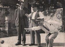 """BERNARD BLIER in """"L'Ecole Buissonniere"""" - Original Vintage Photograph - 1949"""