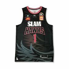 *New* First Ever Nbl LaMelo Ball #1 Illawara Hawks Home Black Jersey Sz L