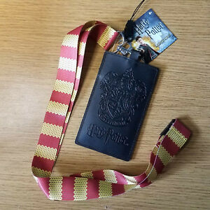 Harry Potter Gryffindor Scarf Lanyard with card holder