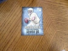 "2012  ANDREW LUCK  .BOWMAN  "" ROOKIE ""  GOLD , ACCOLADES ,   QB  COLTS*1"