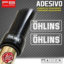 Adesivi Stickers Moto OHLINS Suspension Forcella Fodero Piedino DucatiMotoGp SBK