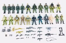 Lot of (21) Chap Mei Soldier Force, Wah Tung Action Figures & Accessories
