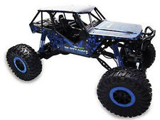 "RC Rock Crawler ""Crazy Crawler"" M 1:10 4WD proportionales Gas 41cm blau"