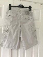 Billabong Boys Striped Cargo Shorts Age 16 Years New With Tags