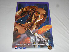 Vintage Star Wars Trilogy Special Edition Pepsi C3Po Poster 1996 36 X 24 Promo