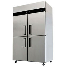 Commercial Refrigerator / Freezer Combo Stainless Steel 4 Door Ybl9342 Cooler