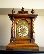 Late 1920's JUNGHANS WOODEN  MANTEL CLOCK