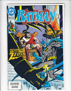 BATMAN 481 MESSENGER OF ZEUS 9.4