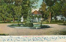DANIELSON CT – Fountain in Davis Park – udb – 1907