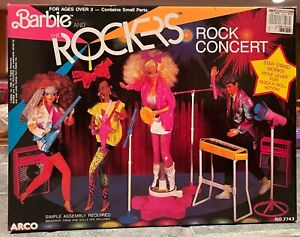 1986 Barbie and the Rockers Rock Concert