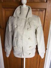 Ladies Short Jacket Cream by ROXY Size M NWT