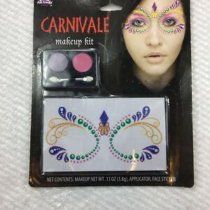 Fun World Womens Multi Color Carnival Makeup Kit Net WT 3.8 Gm