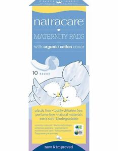 Natracare  Natural Maternity Pads x 10 (Pack of 6)