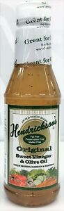 Hendrickson's Original Sweet Vinegar & Olive Oil Salad Dressing, Marinade 16 oz