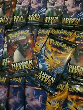 36x Pokemon Hidden Fates Booster Packs. Sealed New. Booster Box Worth. Genuine