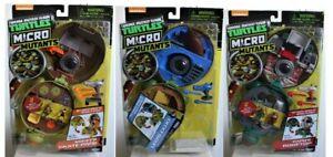 Teenage Mutant Ninja Turtles Micro Mutant Set of three figures Leo Mikey & Raph