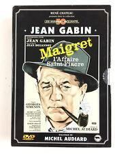 Maigret et l'affaire Saint-Fiacre + tend un piège Coffret 2 DVD / Jean Gabin
