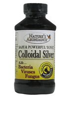 Colloidal Silver 4oz, 22 Ppm w/ Free choice of Spray Bottle!