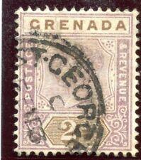 Grenada 1899 QV 2d mauve & brown very fine used. SG 50. Sc 41.
