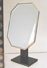 Hollywood Regency French Art Deco Lucite&Brass Vanity Mirror ala Karl Springer