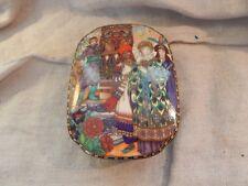 """Villeroy Boch Russian Fairy Tales Trinket Box Porcelain """"The Firebird"""""""