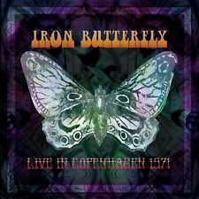 IRON BUTTERFLY - LIVE IN COPENHAGEN 1971 2 VINYL LP NEW!
