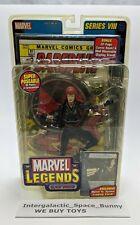 Marvel Legends Toy Biz Series VIII Black Widow Action Figure C5 Moc