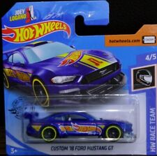 Hot wheels Custom '18 Ford Mustang GT HW Race Team 4/5 2020 222/250 GHC59-D521