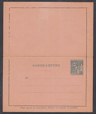 Monaco H&G A5 mint 1891 25c Prince Albert I Letter Card, fresh & VF