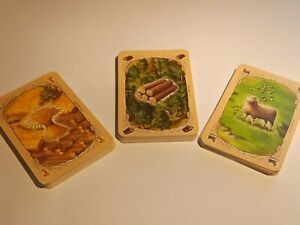 CATAN SPARE REPLACE RESOURCE CARD or ADD ON CARDS - board game settlers of catan