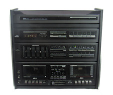 LXI Series Turntable Dual Cassette Deck AM/FM Digital Synthesized Stereo System